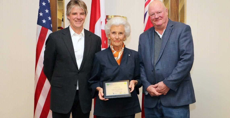 Lucinda Flemer, founder of Kingsbrae Garden in New Brunswick