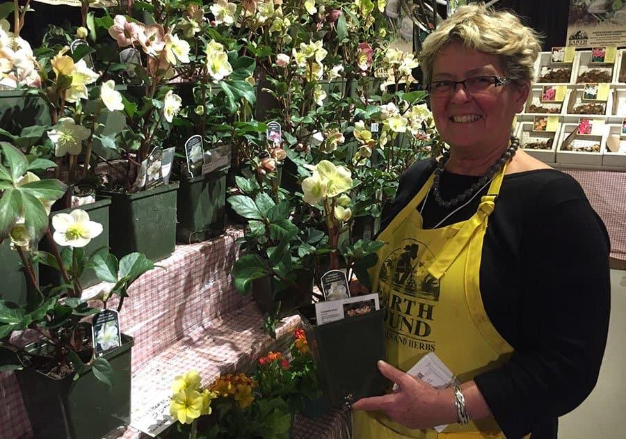 Brenda Sutherland of Earth Bound Gardens