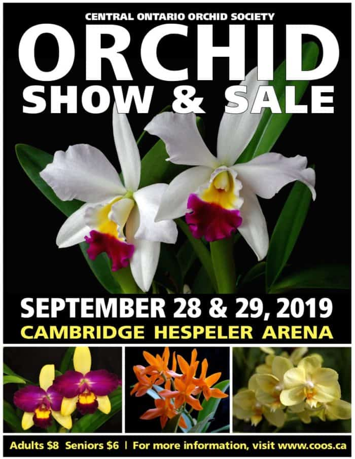 Central Ontario Orchid  Show & Sale