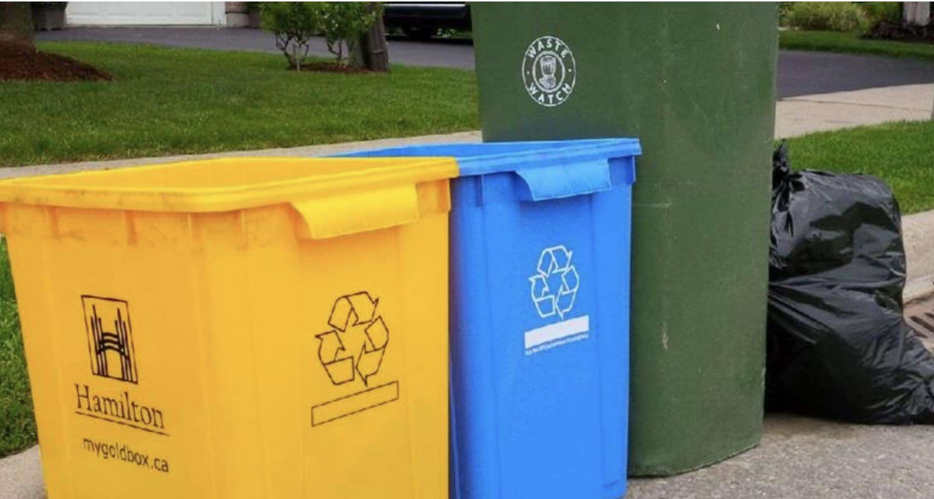 Changes in Hamilton's Recycling
