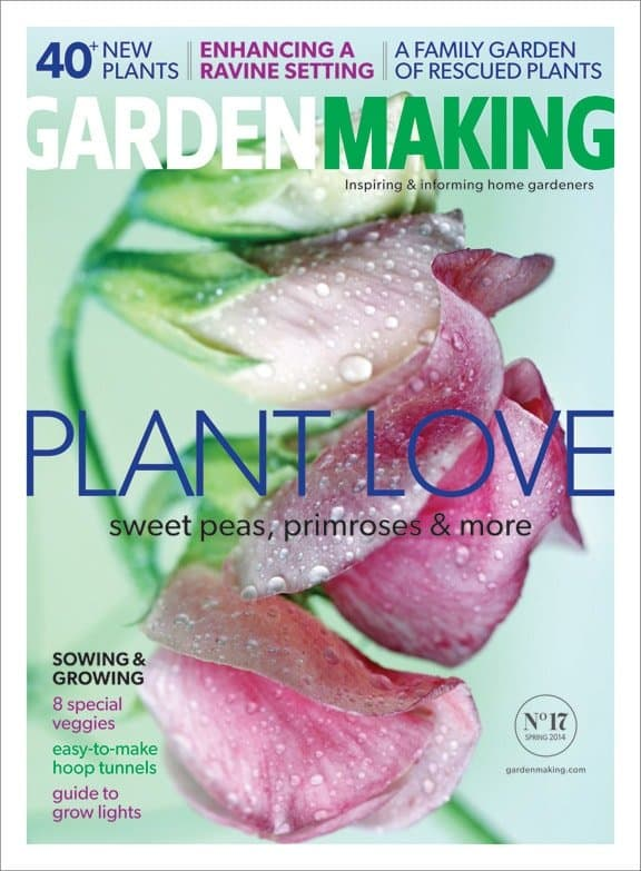 Garden Making spring 2014 cover