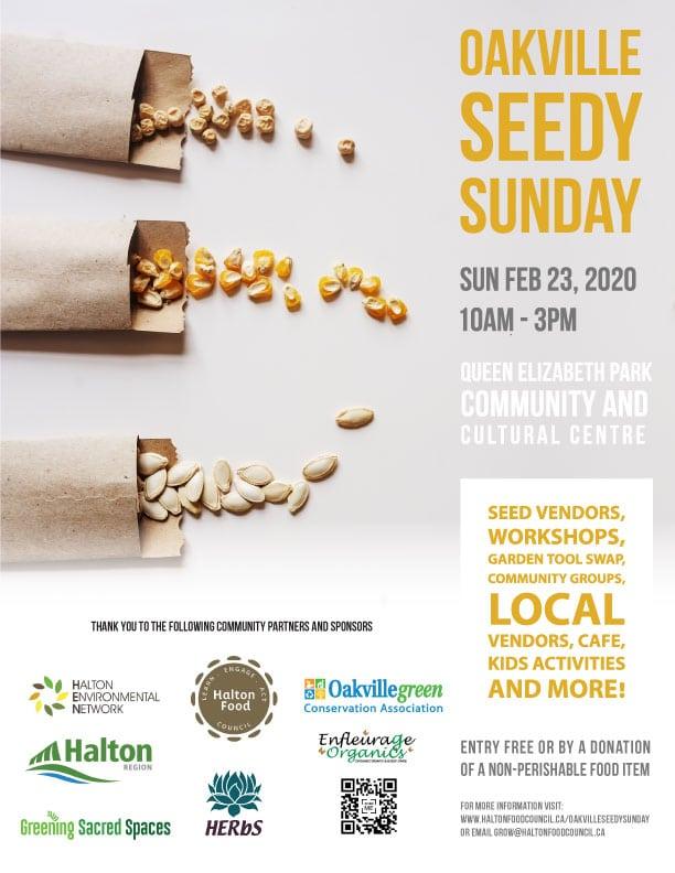 Seedy Sunday in Oakville