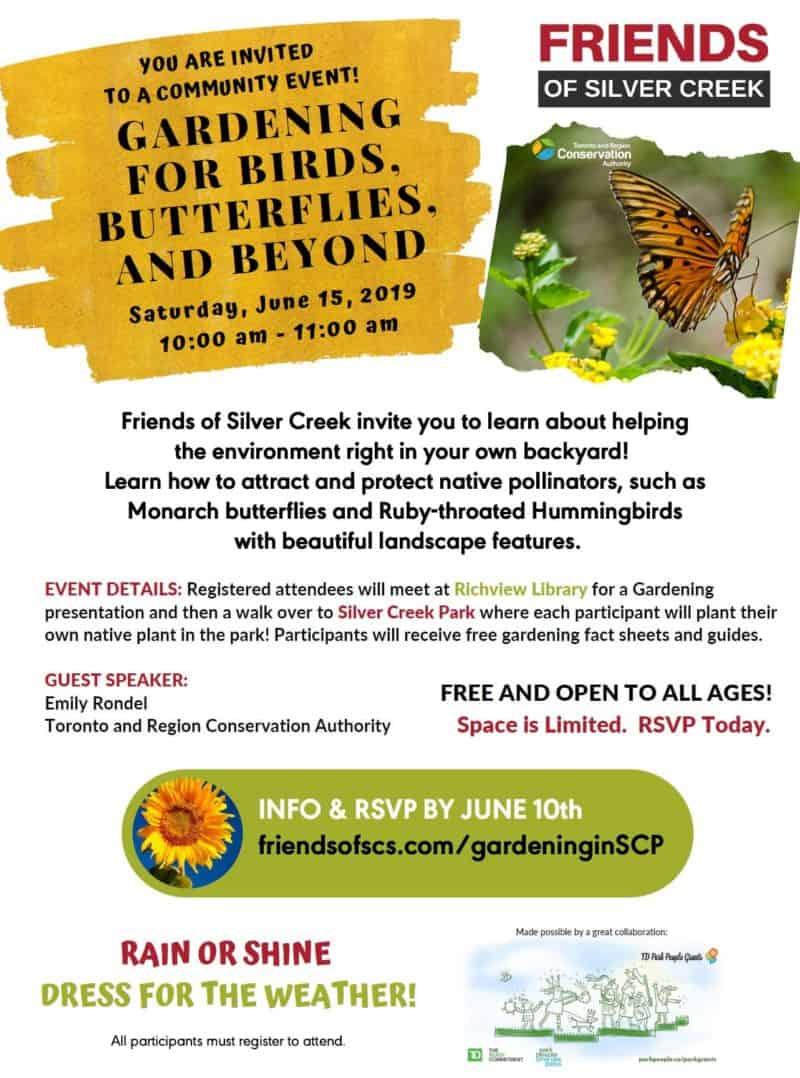 Gardening for birds, butterflies and beyond