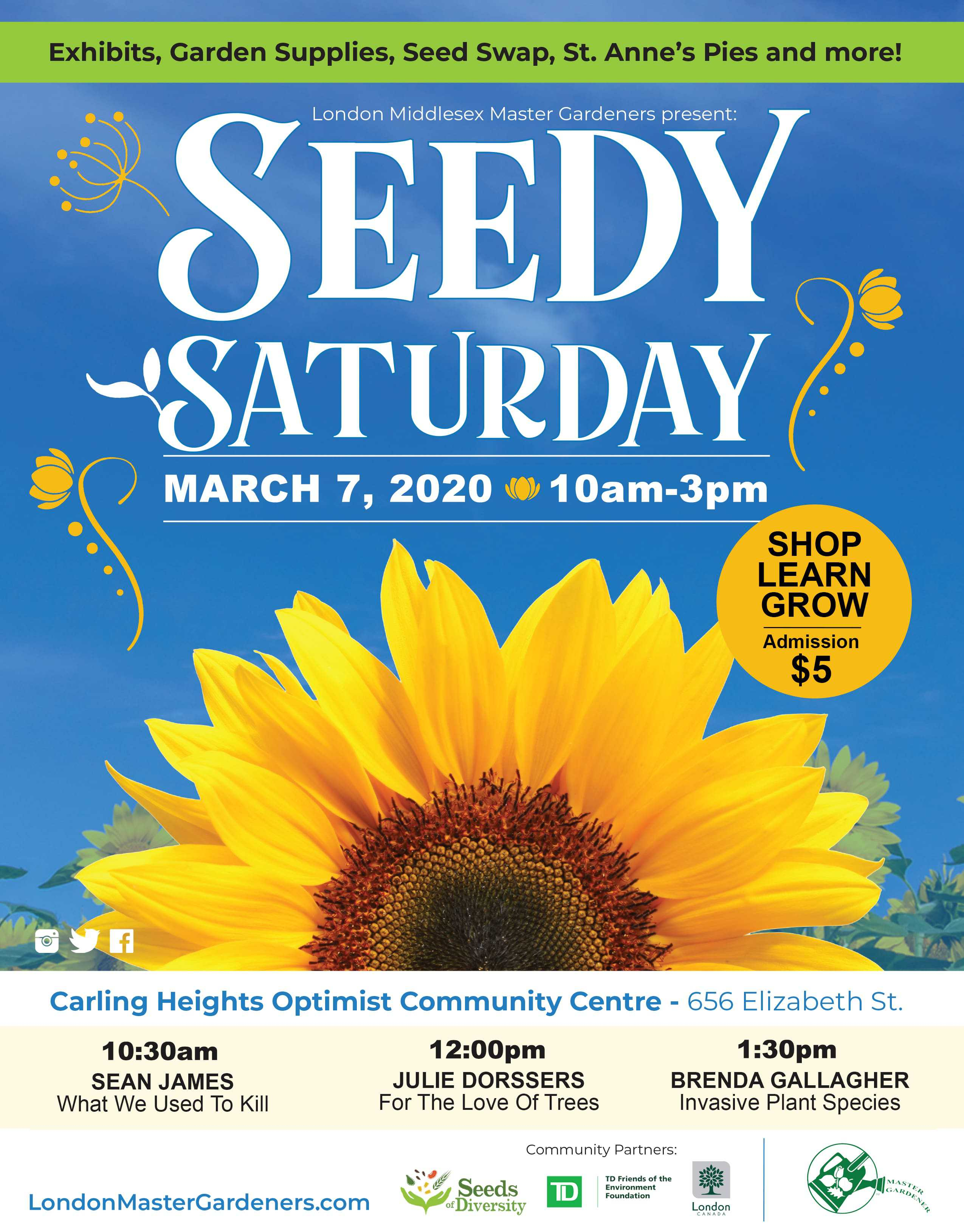 Seedy Saturday in London