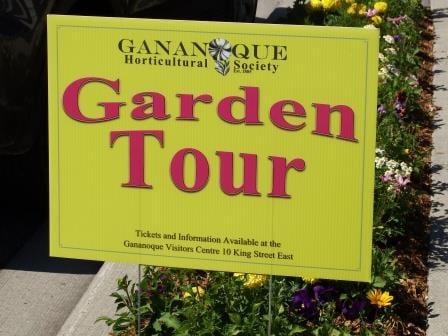 Gananoque Garden Tour