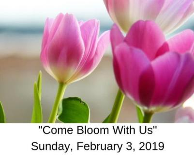 Come Bloom With Us