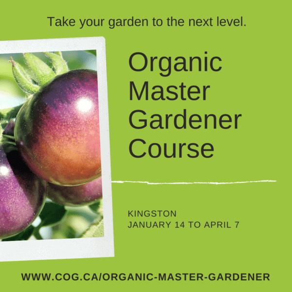 Organic Master Gardener Course